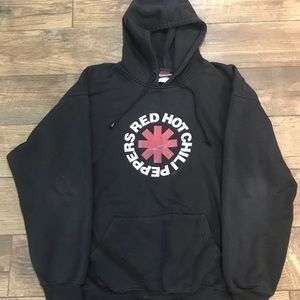 Vintage Y2K (2001) Red Hot Chili Peppers Hoodie - Size XL - Excellent condition!